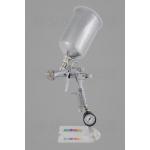 Краскопульт DeVilbiss FLG-5 (с алюминиевым бачком) + регулятор давления
