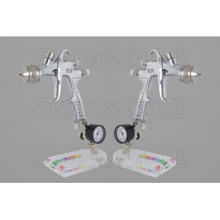 Набор краскопультов DeVilbiss FLG-5 (без бачков) + регуляторы давления