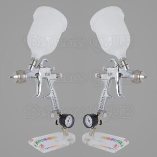 Набор краскопультов DeVilbiss FLG-5 + регуляторы давления