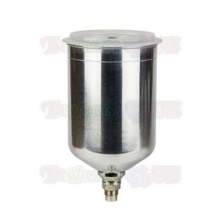 Верхний алюминиевый бачок DeVilbiss (1,0 л) GFC-502