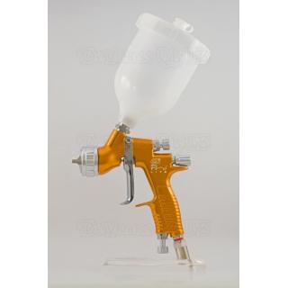 Набор краскопультов DeVilbiss GTi Pro Lite Gold + регуляторы давления