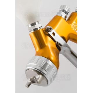 Набор краскопультов DeVilbiss GTi Pro Lite Gold + регулятор давления