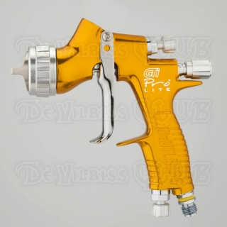Краскопульт DeVilbiss GTi Pro Lite (без бачка) + регулятор давления
