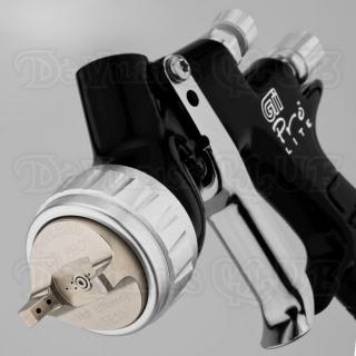 Краскопульт DeVilbiss GTi Pro Lite Black (без бачка)