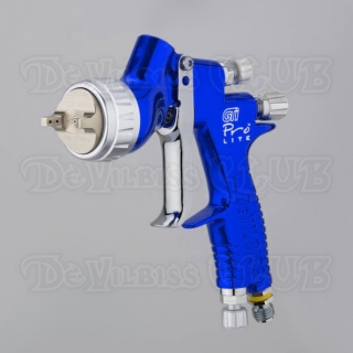 Краскопульт DeVilbiss GTi Pro Lite Blue (без бачка)