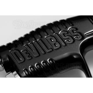 Краскопульт DeVilbiss GTi Pro Lite Super Black (с белым бачком)