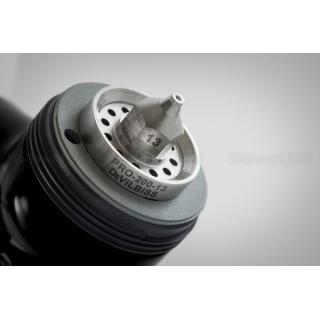 Краскопульт DeVilbiss GTi Pro Lite Super Black (с черным бачком)