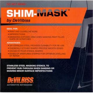 Пластина для удаления подтеков DeVilbiss SHIM MASK (3 шт.)