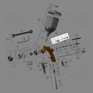 PRO-406-K | Узел распылительного клапана GTi Pro Lite